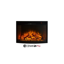 "110-120V 28"" infrared insert electric fireplace heater with fence"