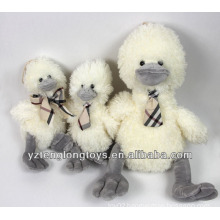 2014 New Product Bow Tie Wearing Soft Toy Plush Duck