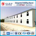 Casa durável da construção de aço / casa pré-fabricada / casa do trabalho pré-fabricada