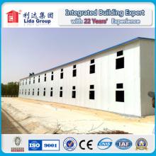 Casa durable de la estructura de acero / casa prefabricada / casa prefabricada del trabajo