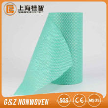 [FACTORY] Spunlace non-woven fabric kitchen cleaning cloth/light weight kitchen wipes/wave pattern cleaning cloth