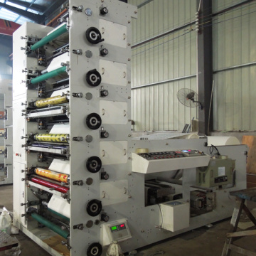 Impresora flexográfica de 6 colores