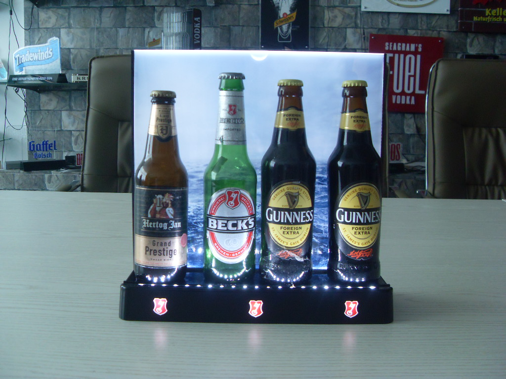Beck's bottle glorifier display