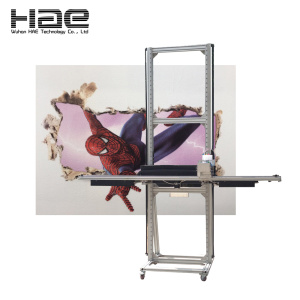Horizontal Wall Printer With Water Based Ink