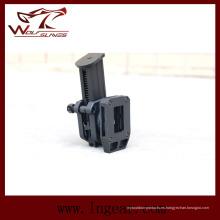 Múltiples ángulos táctica tiro Ipsc y cinturón para obtener pistola funda bolsa del Mag
