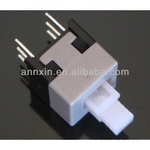 lock type and non-lock push switch 8.5*8.5