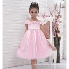 vestido hinchado de las nuevas muchachas del diseño / vestido de fiesta / vestido floral para el desgaste de la boda