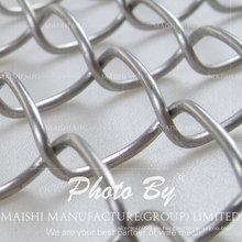 60mmx60mm Mesh Chain Drahtzaun