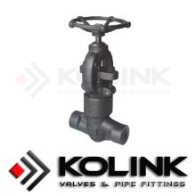Válvula de acero forjado del globo (tipo del sello de la presión)