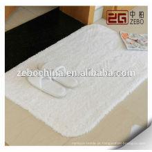 Alta qualidade personalizado tamanho do banheiro de algodão usado piso tapete