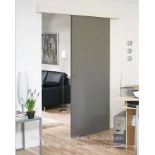 Montagem em superfície pintada moderna deslizante porta embutida na parede