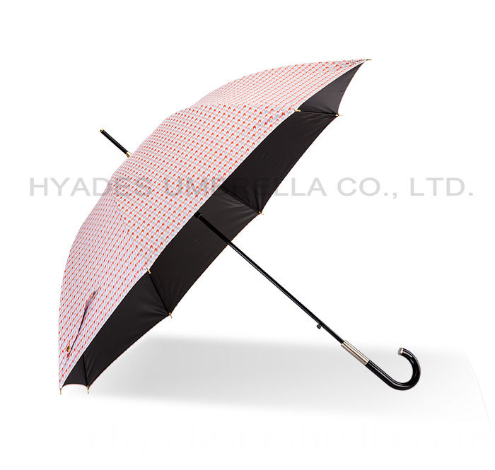 Wind Resistant Lightweight Auto Open Straight Umbrella