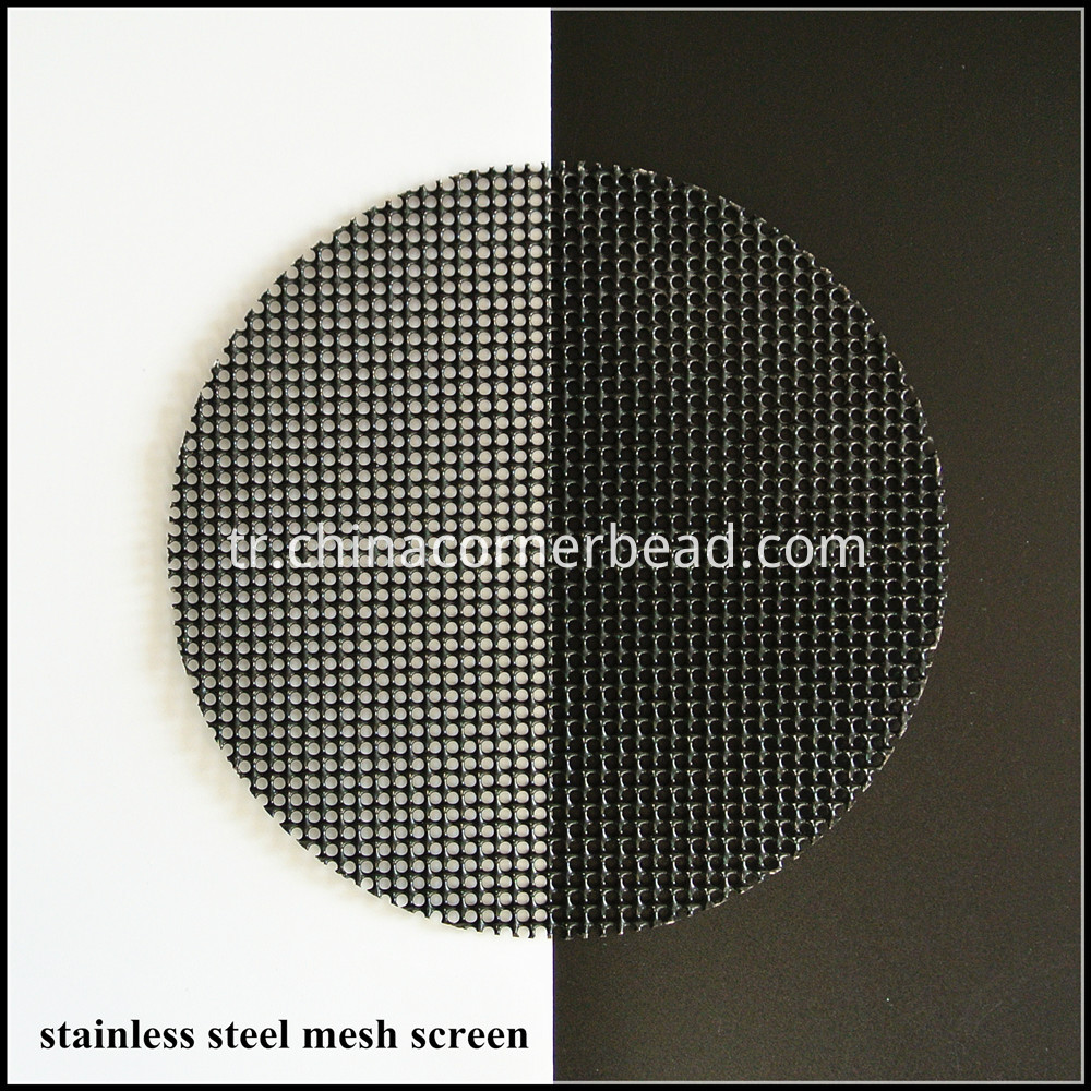 stainless steel mesh screen 70 black