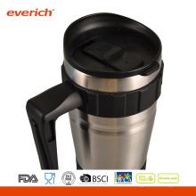Förderung-Edelstahl-Reise-Becher, kundenspezifische Firmenzeichen-Edelstahl-Reise-Förderung-Kaffeetasse