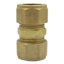 Douille de couplage droite en laiton à compression