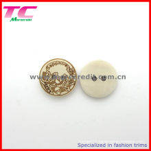 Custom 18mm 2 Holes Wood Button for Shirt