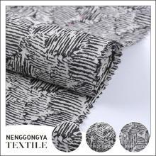 Made in China profissional lindo vestido personalizado tecido jacquard