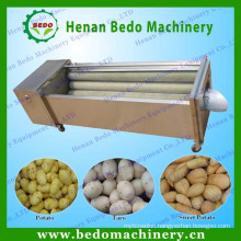Electric industrial sweet potato peeling machine&potato peeling washing machine