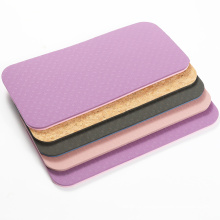 Yoga Pilates Pads Outdoor Fitness Training Mat Comfortable TPE Knee Elbow Pad Mats for Exercise Mat