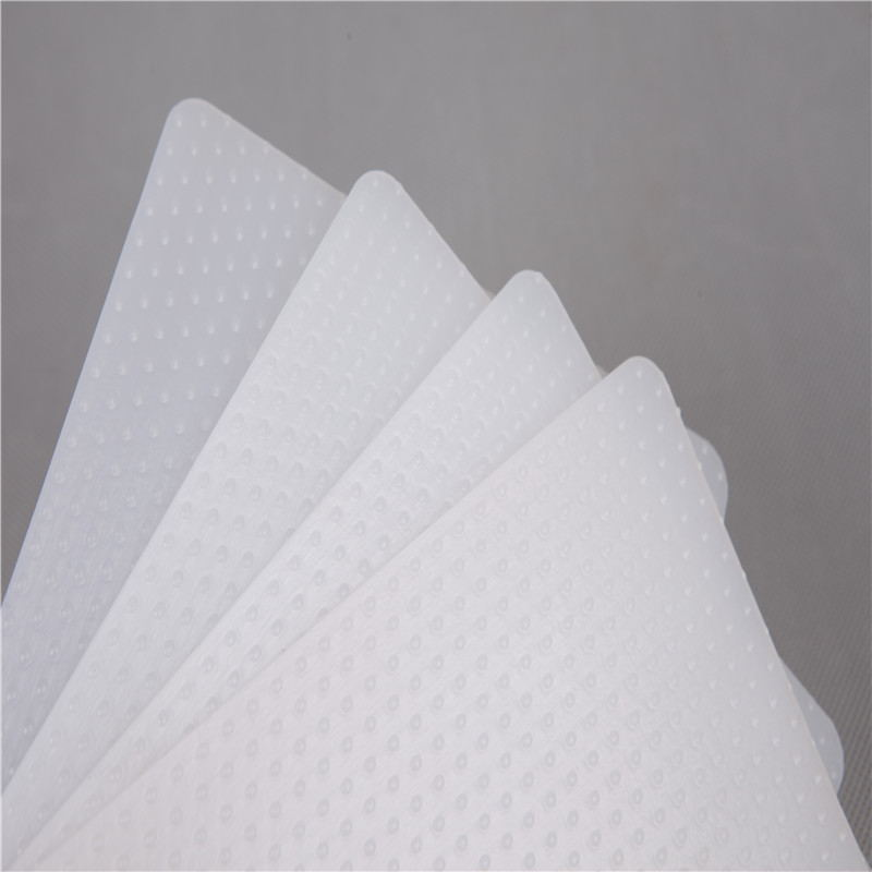 white texture geomembrane