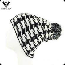 2016 Latest Taxi Jacquard Custom Design Beanie Hat