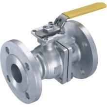 Válvula de bola con piezas atornilladas de acero inoxidable