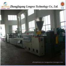 Línea de producción de alféizar de ventana WPC