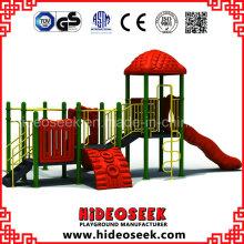 Plastic Slide Type Plastic Playground