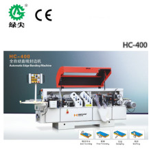 high efficient HC -400 Portable wooden manual pvc edge banding machine