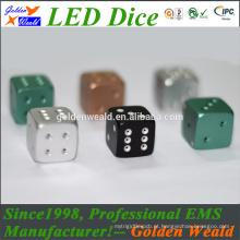 dados coloridos da liga de alumínio do diodo emissor de luz 20mm