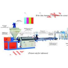 machines de réutilisation en plastique de film de rebut