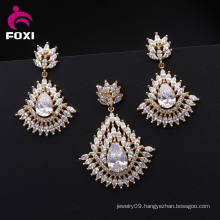 Wholesale Hot Sale 18k Plated Ladies Jewelry Set