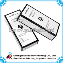 High Quality paper box for cosmetic can be printed with your logo