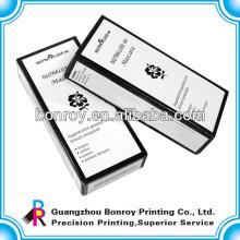 Высокое качество бумажная коробка для косметической может быть напечатаны с вашим логотипом