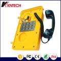Heavy Duty Telefone mit Metallflache Tastatur Knsp-11 Kntech