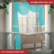 "Latest Curtain Designs 2016 Hot Sale Fashion Solid Sheer Voile Curtain -Pinch Pleated / Rod Pocket - White - 58""w x 84""l"