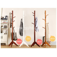 living room furniture stand wooden clothes hanger/coat rack