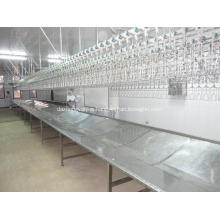 Poultry processing equipment bleeding trough