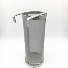 Hopper Filter Stainless Beer Keg Dry Hoping Home Brew 4x10 Inch Hopper Spider Strainer Home Brew Pellet Hop 300 Mesh Filter
