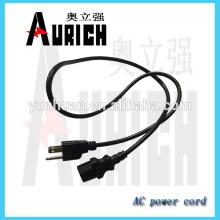 UL Standard PVC isolé cordon d'alimentation avec câble suppy