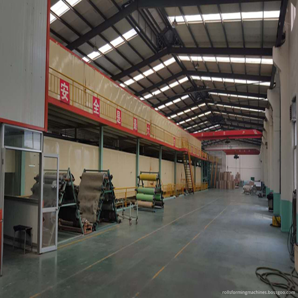 VCM plate production line