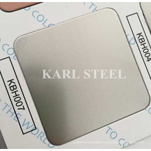 304 Stainless Steel Silver Color Hairline Kbh007 Sheet