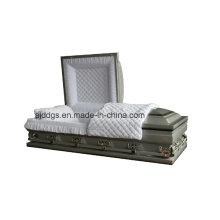 Серебряный тени черная отделка шкатулка (негабарит)