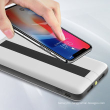 Portable power bank 9v lithium ion rechargeable battery