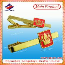 Hochwertiger attraktiver Krawattenclip mit kundenspezifischem Logo