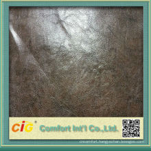 Strong Soft Chinese Wet PU Leather metallic pu leather