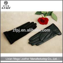 Caliente-Vendiendo el guante de la soldadura del cuero del precio bajo de la alta calidad