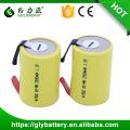 Geilienergy Deep Cycle Recargable 1.2V NIMH 4 / 5SC Batería con pestañas