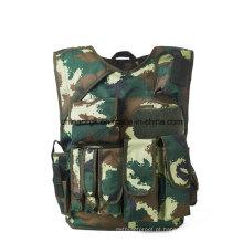 600d 1000d Defesa de Fronteira Polícia Armada Camuflagem Anti-Stab & Spike Vest