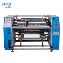 High Speed LDPE / PE / Polythene / Bundling Stretch Film Roll Slitter Rewinder Machine